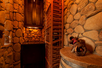 Architectural Photography Wine Room